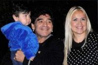 Tras la recuperación de Dieguito, Verónica Ojeda habló y le pegó a Maradona