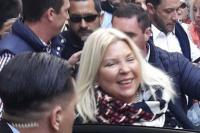 Mediante un video, Elisa Carrió repudió el paro del lunes
