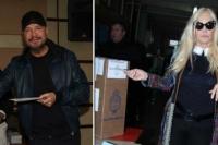 Los famosos también votaron y opinaron sobre las elecciones