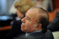Carlos Menem ejercería como senador hasta sus 93 años
