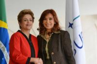 Dilma Rousseff felicitó a Cristina Kirchner por su banca en el Senado