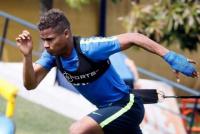 Alivio para los mellizos: Barrios y Pérez volvieron a entrenarse