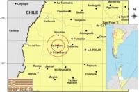 Un temblor en La Rioja se percibió en San Juan