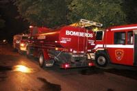 Chimbas: una familia se salvó de un gran incendio