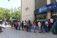 El lunes próximo no habrá atención en los bancos