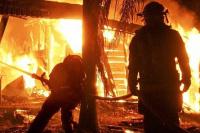 Tras un incendio en Pocito, dos abuelos terminaron en el hospital