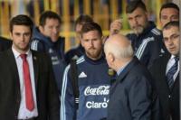 Tras las amenazas de ISIS: rigurosa seguridad para cuidar a Messi