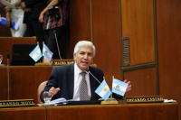 Eduardo Castro se refirió a la renuncia del juez Caballero Vidal