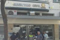 El próximo viernes el Registro Civil no abrirá sus puertas al público