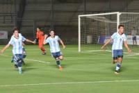 Con un gran marco de público, Argentina se consagró campeón en el Bicentenario