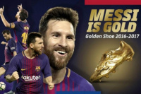 Lionel Messi suma un nuevo premio: la Bota de Oro