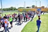 Bastones Blancos: este sábado tuvo lugar su cuarta caminata en Chimbas