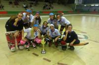 Las chicas de UVT gritaron campeón en Brasil