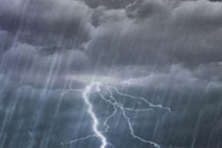 Alertan tormentas para la noche del domingo