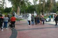El Polo Obrero realizó una jornada de protesta