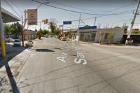Motociclista se estrelló contra la puerta de un auto: fue hospitalizado