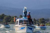 Mirá las fotos de la procesión náutica con la Virgen