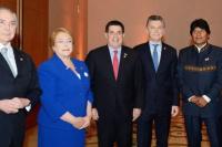 Evalúan retirar a la Argentina de la Unasur