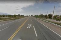 Una niña perdió la vida al intentar cruzar la ruta 40