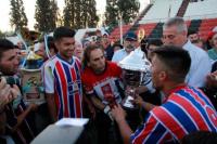 """Carlos Biasotti: """"Tenemos un grupo humano de mucho sacrificio y humildad"""""""