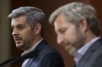 Marcos Peña y Rogelio Frigerio se reunirán con los gobernadores antes de la sesión