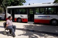 San Juan: debutó el primer colectivo para personas con discapacidad