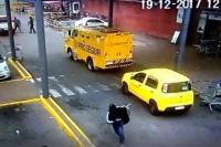Impresionante golpe comando en Uruguay: robo en 40 segundos