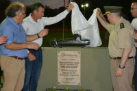 Gran homenaje: inauguraron la plaza ARA San Juan