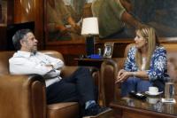 Alejandra Venerando tuvo una reunión con el Ministro de Salud de Nación
