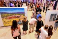 Teatro del Bicentenario: quedó inaugurada la muestra Salón Cordillerano
