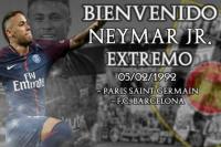 El Mérida fichó a Neymar