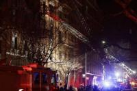 Impresionante incendio en un edificio de Nueva York: al menos 12 muertos