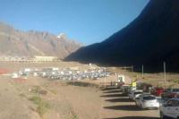 Vacacionesy fin de semana XL: largas colas para cruzar a Chile