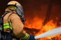 Un petardo habría causado un incendio en Chimbas