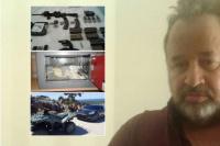 Rodeado de lujos fue detenido un sindicalista argentino en Uruguay