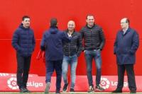 Los primeros jugadores que visitó Jorge Sampaoli en su gira por Europa
