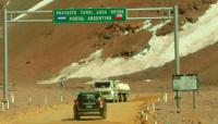 Una familia sanjuanina fue rescatada por Gendarmería, tras estar varados durante seis horas en la Cordillera