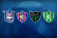 San Juan volverá a tener una fuerte representación en la Copa Argentina