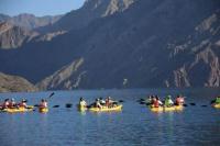 Ya podés andar en Kayak en el dique Punta Negra