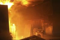 Consecuencias del Zonda: las llamas rodearon a una vivienda pocitana