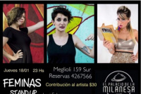 Féminas: show de stand up con Jessica Echegaray, Victoria Martin y Vale Farfan Ale