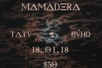 Este jueves toca Tatü en Mamadera
