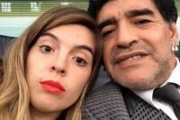 Dalma Maradona viajará a Dubai para enfrentar a Diego: ¿asistirá al casamiento?
