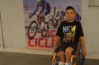 Marquitos, entrena para participar de la Vuelta Inclusiva