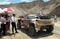 Uñac recibió al Dakar en Ullum