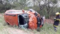 Una sanjuanina tuvo un accidente en La Rioja y falleció su acompañante