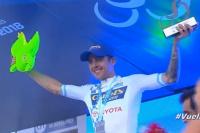 Villalobos ganó la 2ª etapa de la Vuelta a San Juan