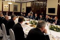 """Mauricio Macri se reunió con empresarios rusos y los convocó a """"estrechar vínculos"""""""