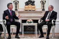 Macri se reunió con Putin: