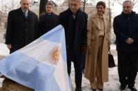 Macri en Rusia: Juliana Awada, con un look
